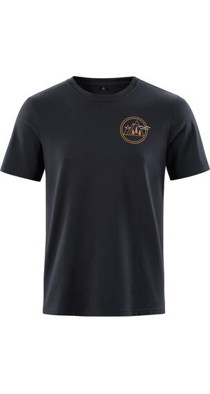 Cube Fichtelmountains T-Shirt Herren black 'n'gold